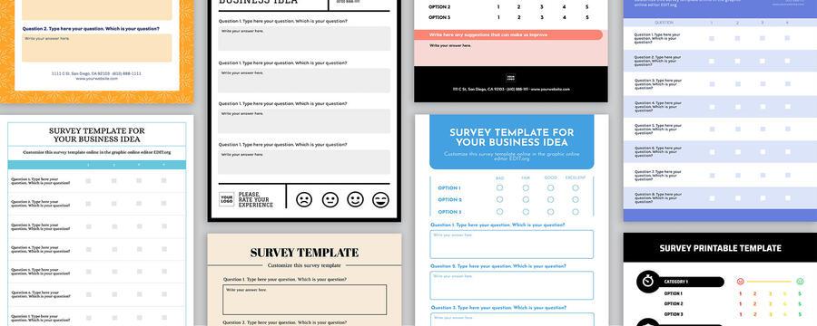 Edit a survey