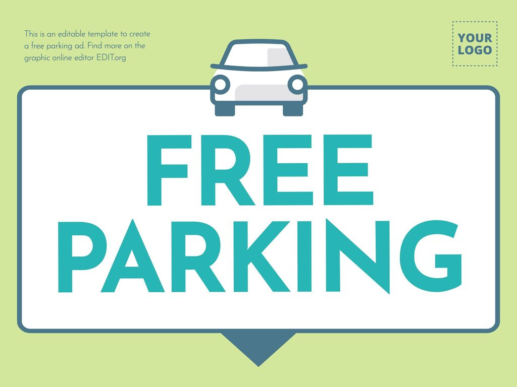 Edit a parking free template