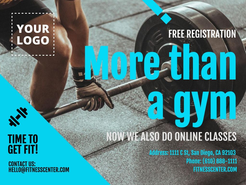 Online promotion designs for gyms and fitness