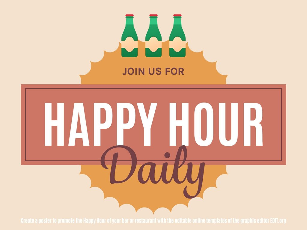 Edit a Happy Hour template