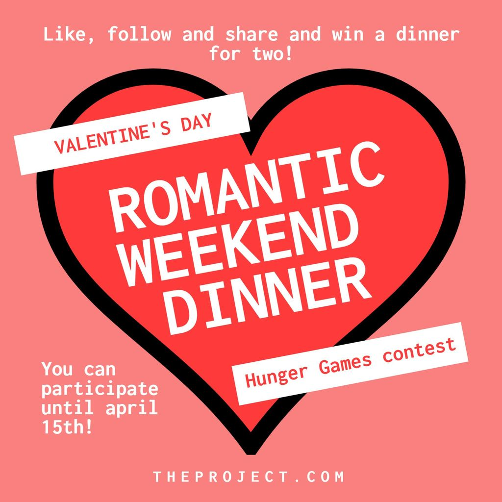 Valentine's Day and couples Restaurant Menu templates