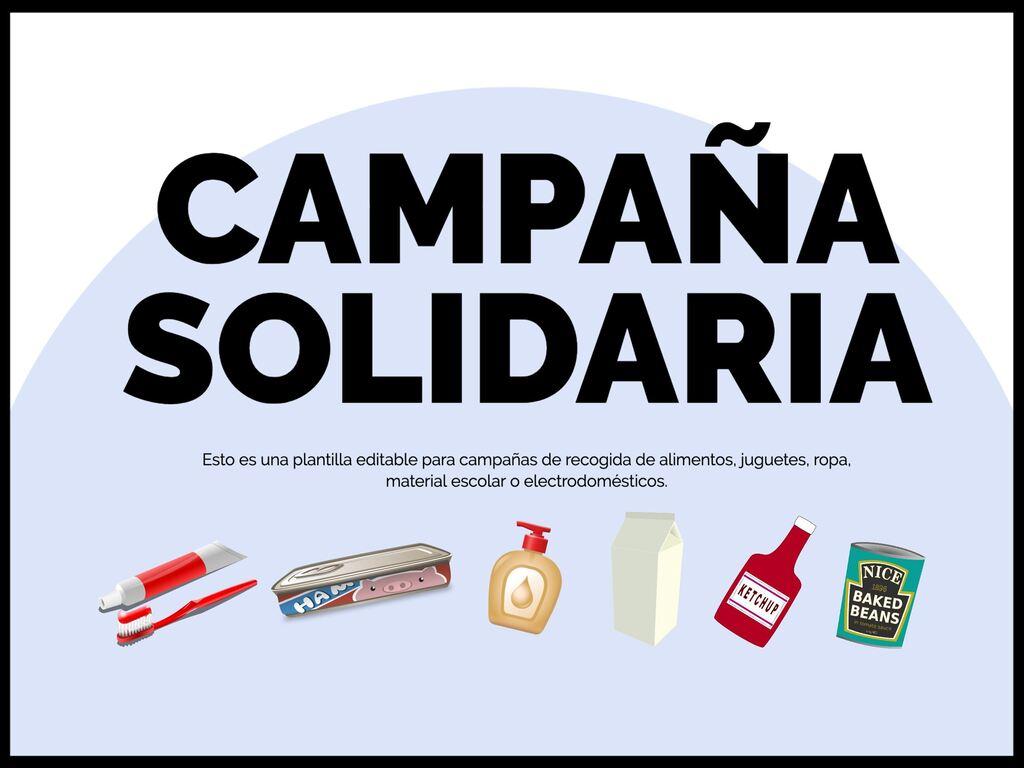 Edita una plantilla para tu campaña