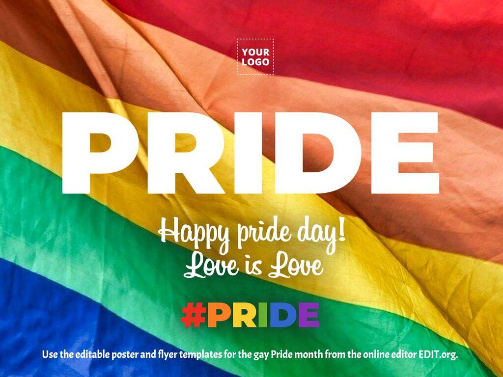 Edit a Pride template