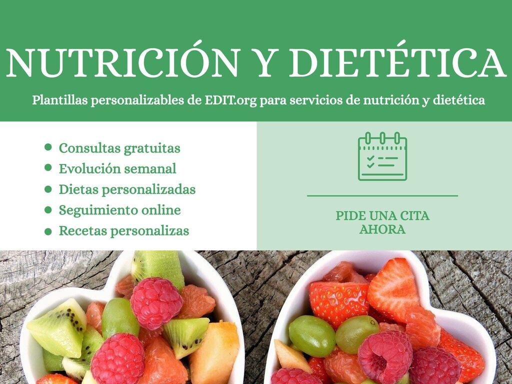 Crie um design de nutrição