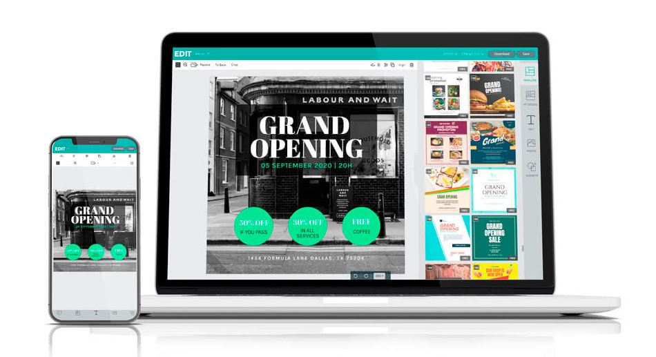 The alternative to Canva and Photoshop