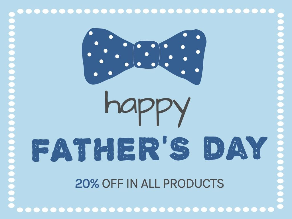 The best Father's day promotion templates
