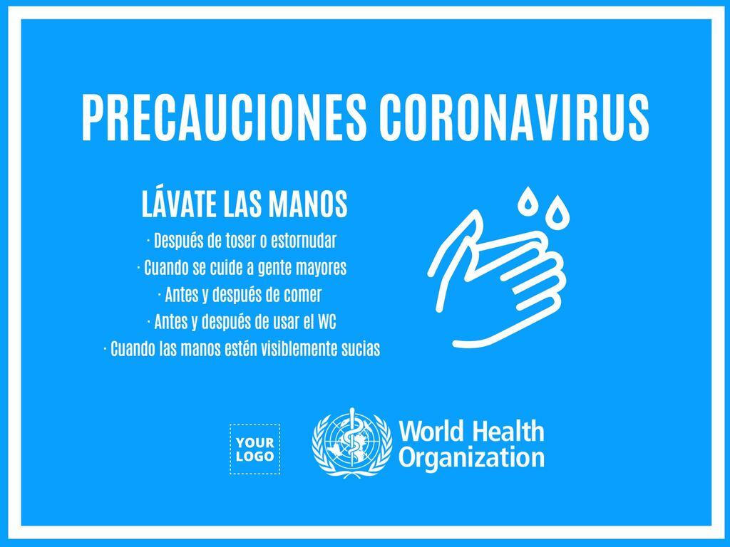 Editar meu pôster ajuda coronavirus