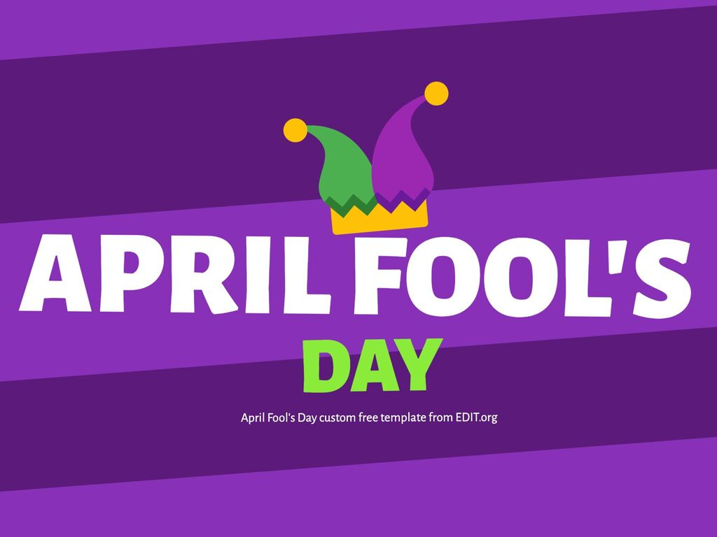 Create an April Fools design