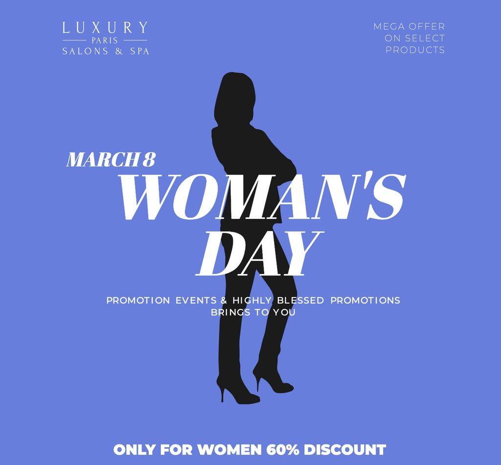 Women's day. Ideas and templates for your business