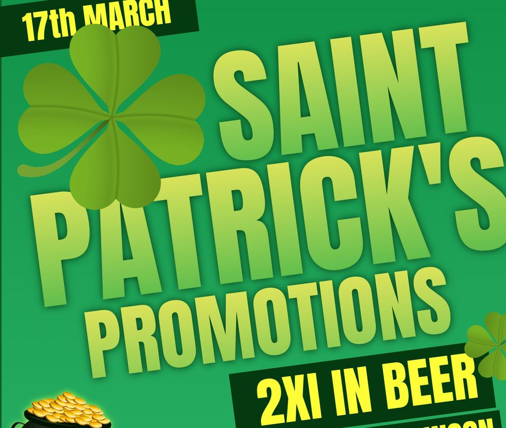 Make your St. Patrick\'s day promo