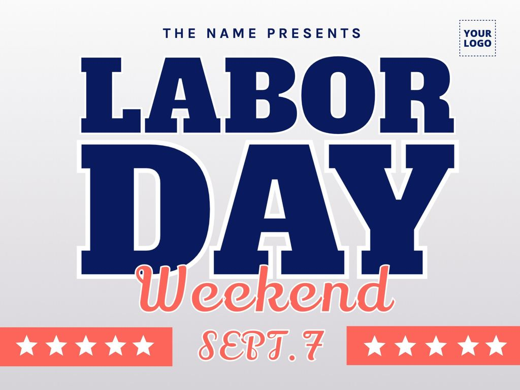 Labor Day promotion templates