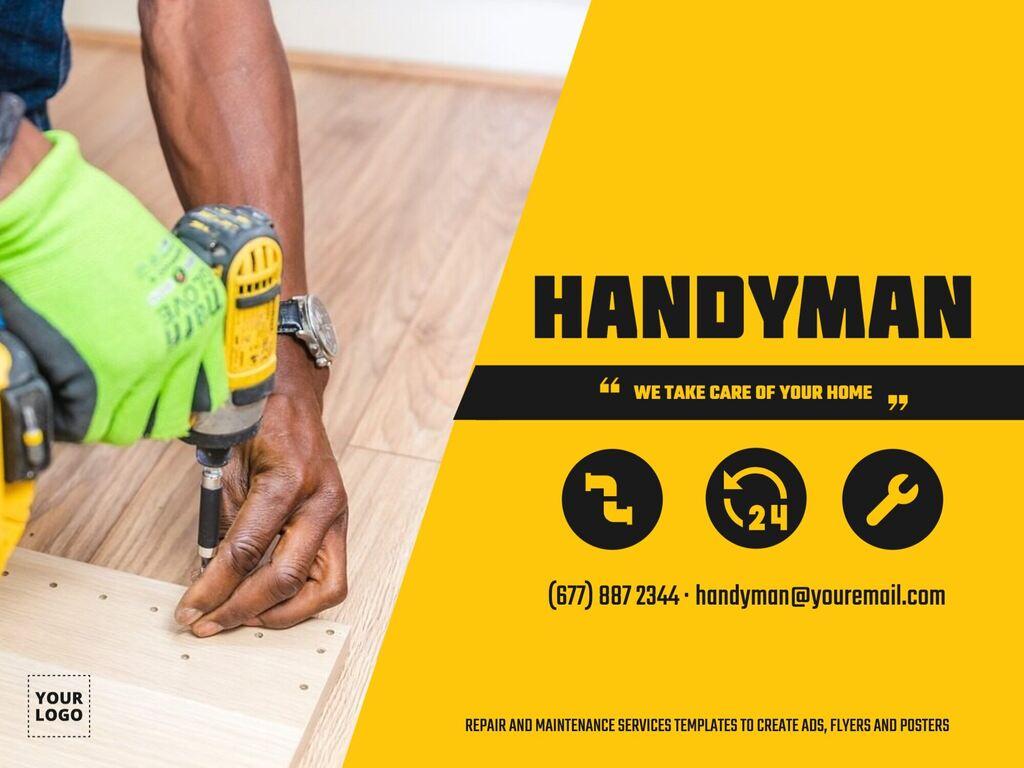 Edit a handyman template