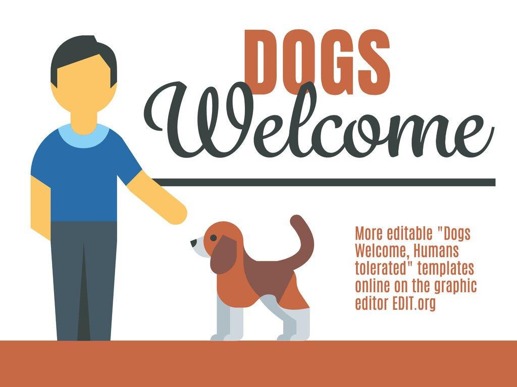 Edit a pet friendly sign