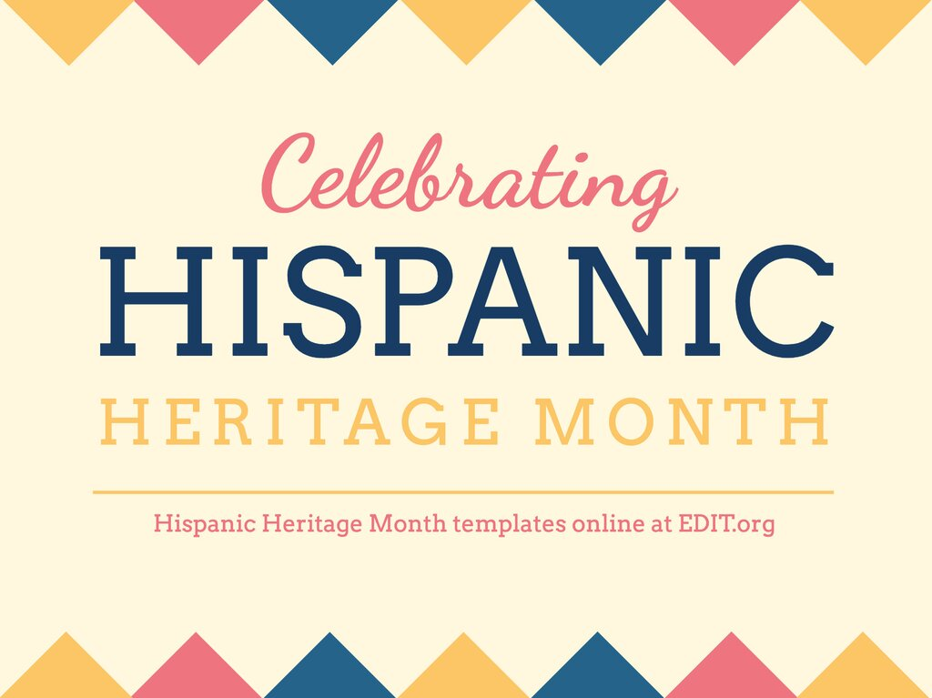 Edit a Hispanic Heritage template