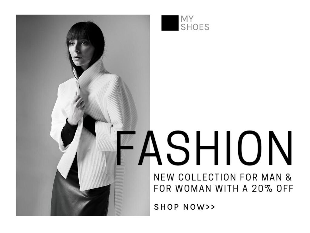 Marketing templates for fashion stores