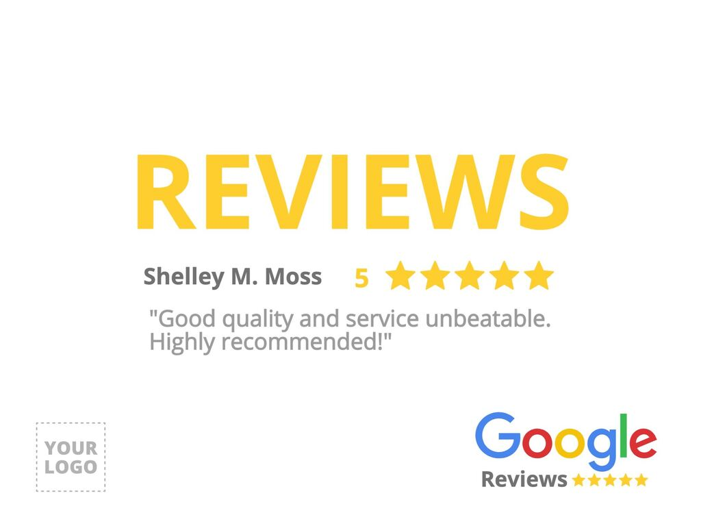 Templates for your customer reviews