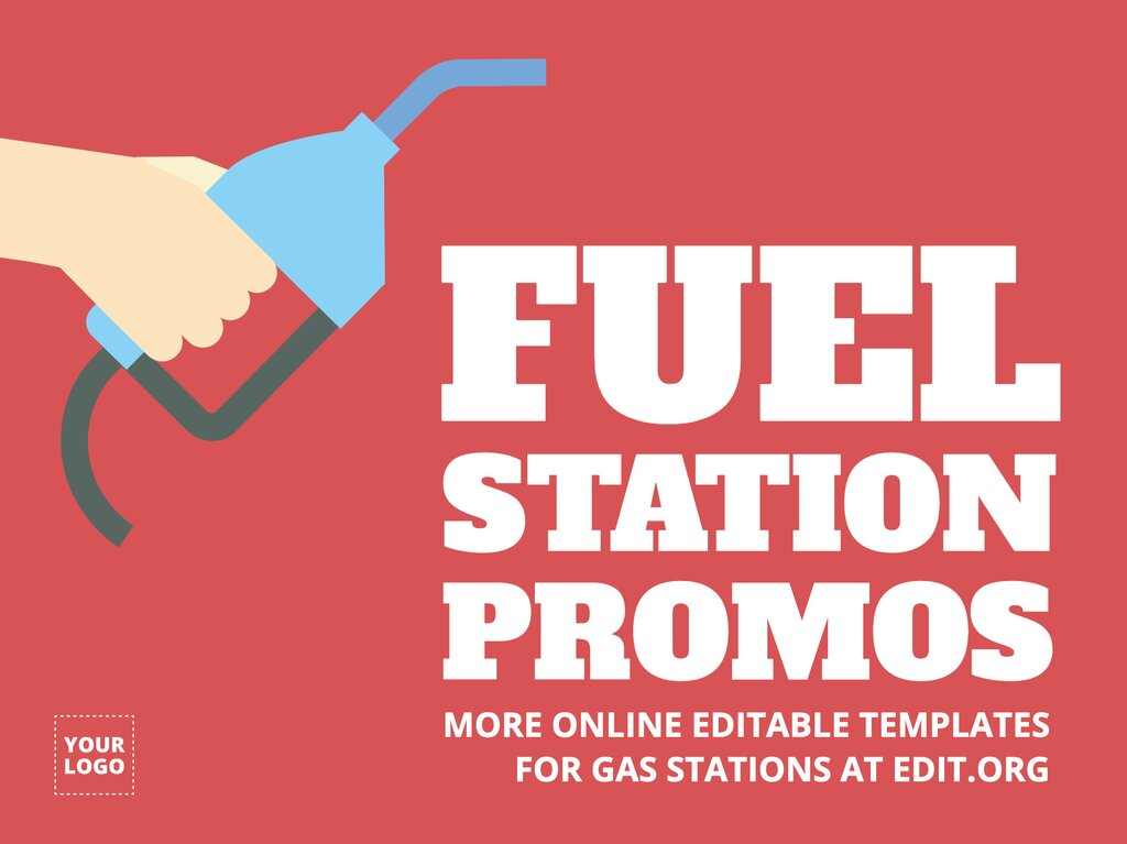 Edit a gas station template