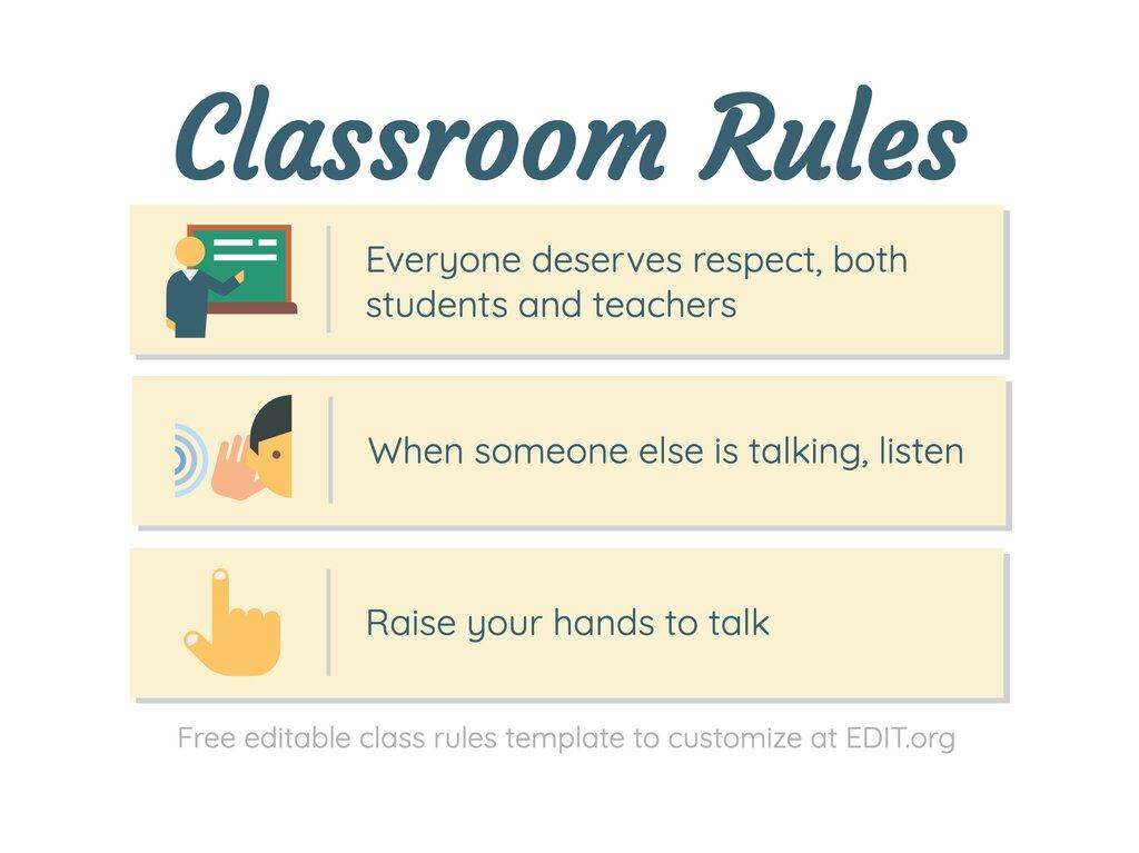 Edit a classroom poster
