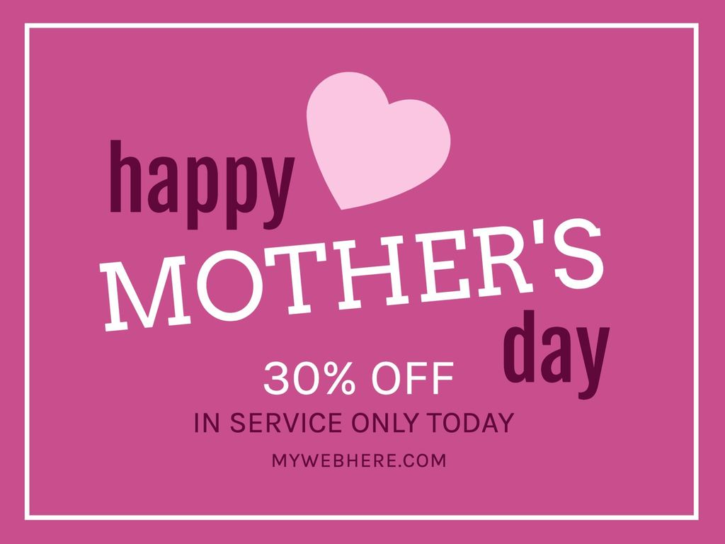 Ideas and templates for Mother's Day