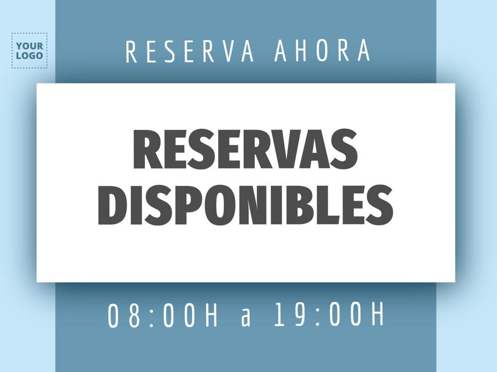 Editar um modelo de reserva