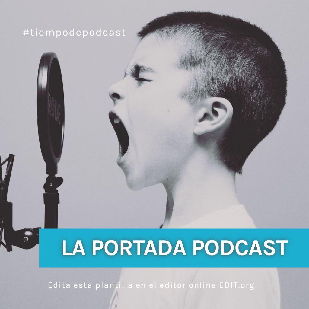 Edite a capa do seu podcast