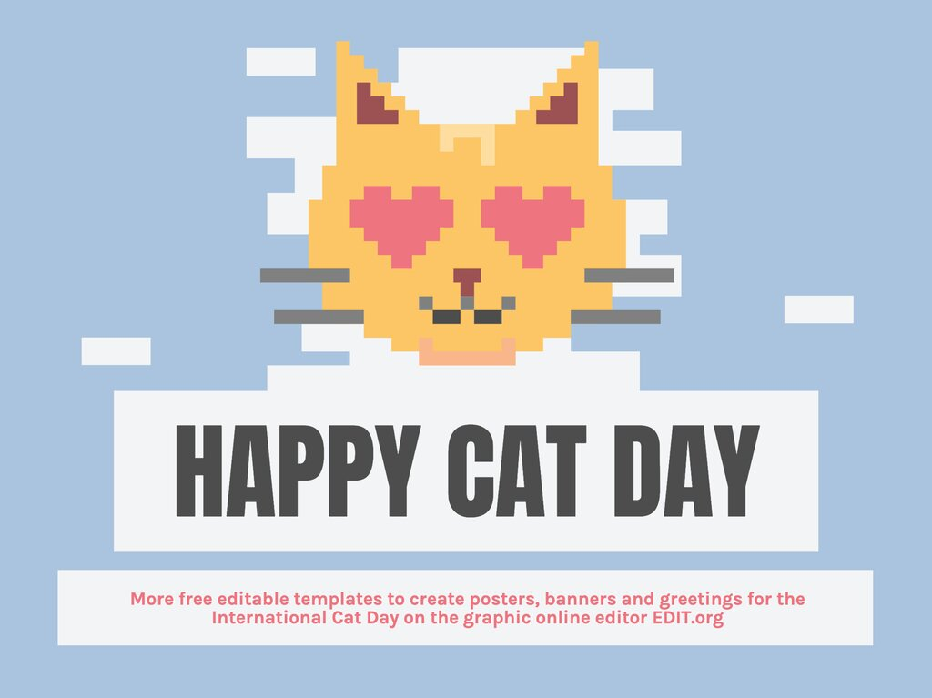 Edit a Cat Day design