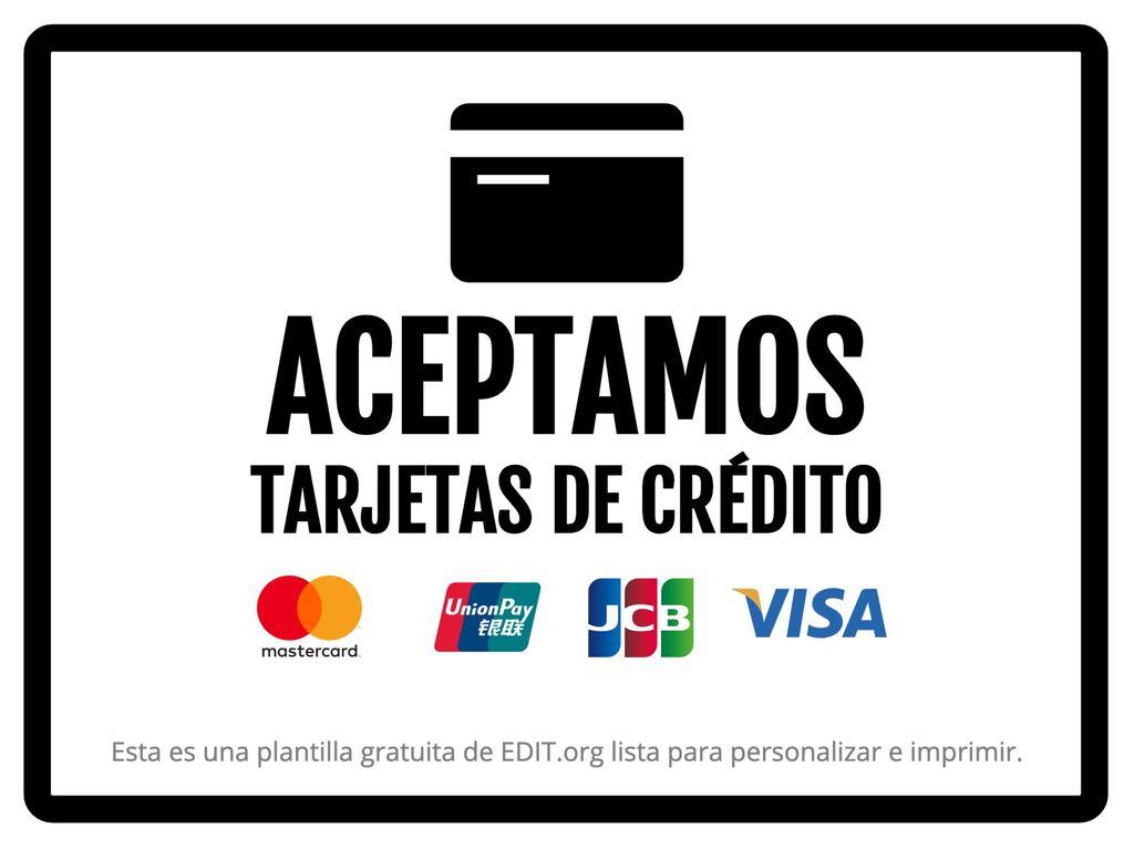 Editar un cartel de pagos