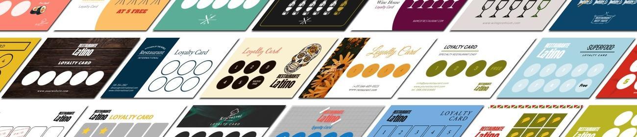 Crea tarjetas de fidelización para tu negocio