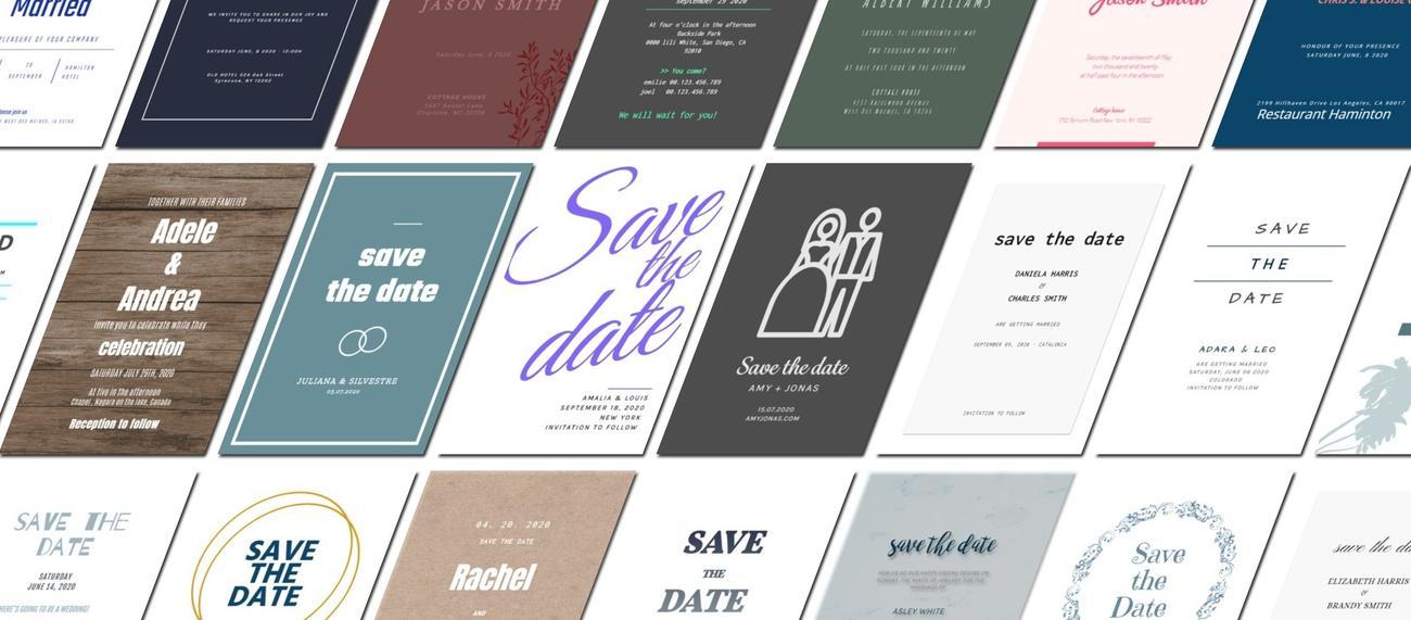 Create wedding invitations online