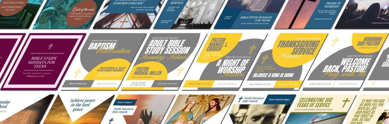Editar diseño para Iglesia