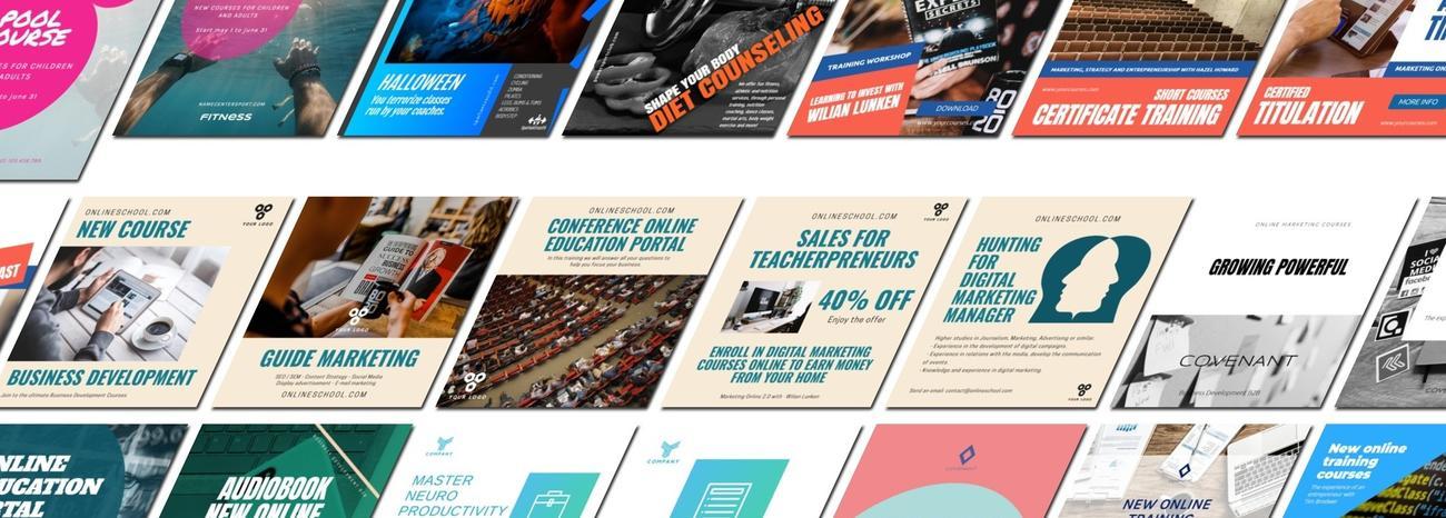 Crear banner para cursos online