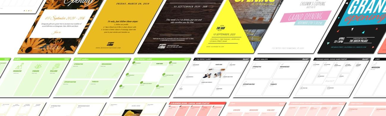 Create social media designs