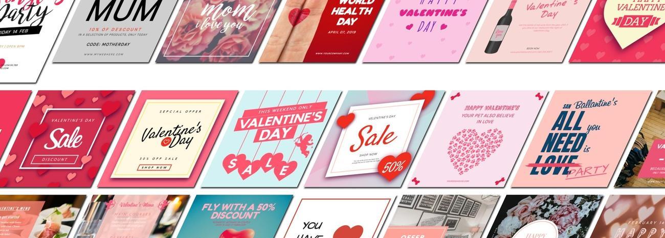 Los mejores diseños para el día de San Valentín