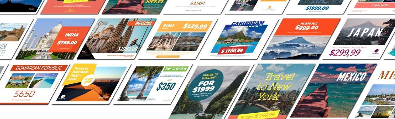 Crear diseños de viajes