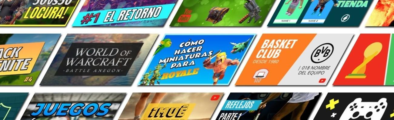 Crear miniaturas de youtube online